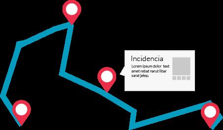 ruta de empleado app